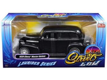 Jada 98913 Street Low Lowrider Series 1939 Chevy Master Deluxe 1:24 Black