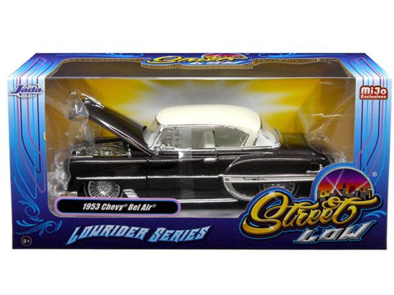 Jada 98916 Street Low Lowrider Series 1953 Chevy Bel Air 1:24 Brown