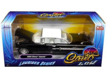 Jada 98925 Street Low Lowrider Series 1960 Chevy Impala 1:24 Black