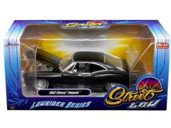 Jada 98934 Street Low Lowrider Series 1967 Chevy Impala 1:24 Black