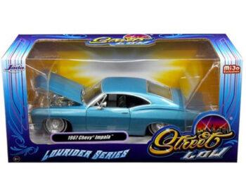 Jada 98935 Street Low Lowrider Series 1967 Chevy Impala 1:24 Blue