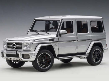AUTOart 76323 2017 Mercedes Benz AMG G63 1:18 Silver