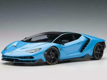 AUTOart 79113 Lamborghini Centenario 1:18 Blue Cepheus / Pearl Blue