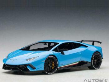 AUTOart 79153 Lamborghini Huracan Performance 1:18 Blue Cepheus / Pearl Blue