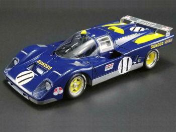 Acme M1801001 Ferrari 512M #11 Donohue Sunoco 1971 Le Mans 1:18 Blue