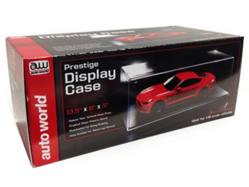 AutoWorld AWDC001 Clear Display Show Case for 1:18 Diecast Model Car