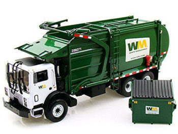 First Gear 10-4001 Mack Terrapro Wast Garbage Truck Front End Loader with Bin 1:34