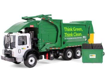 First Gear 10-4006 Mack Terrapro Waste Management Garbage Truck with Bin 1:34