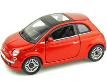 Bburago 18-21032 2007 Fiat 500 1:24 Orange