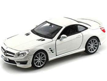 Bburago 18-21066 Mercedes Ben SL 65 AMG Coupe 1:24 White