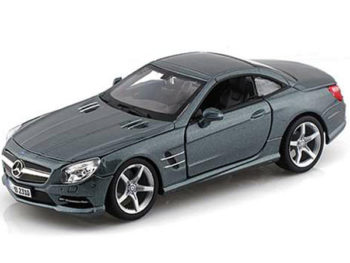 Bburago 18-21067 Mercedes Benz SL 500 Coupe 1:24 Grey