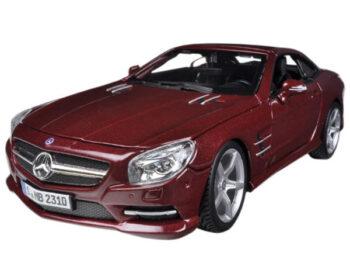 Bburago 18-21067 Mercedes Benz SL 500 Coupe 1:24 Red