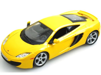 Bburago 18-21074 McLaren MP4 12C 1:24 Yellow