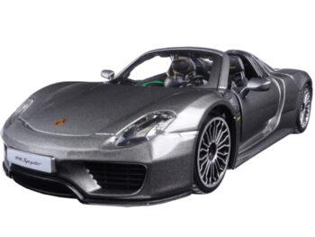 Bburago 18-21076 Porsche 918 Spyder 1:24 Grey