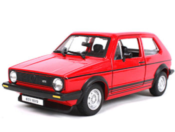 Bburago 18-21089 VW Volkswagen Golf Mk1 GTI 1:24 Red