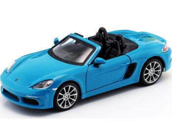 Bburago 18-21087 Porsche 718 Boxster 1:24 Blue