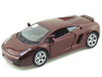 Bburago 18-22051 Lamborghini Gallardo 1:24 Burgundy