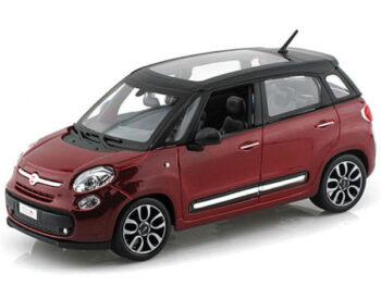 Bburago 18-22126 Fiat 500 L 1:24 Red
