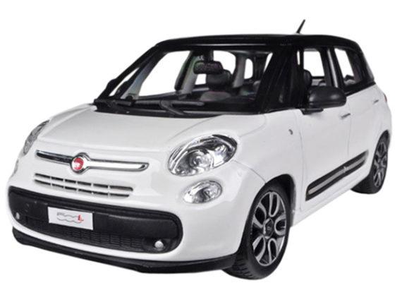 Bburago 18-22126 Fiat 500 L 1:24 White