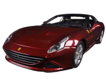 Bburago 18-26002 Ferrari California T Closed Top 1:24 Burgundy