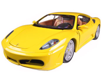 Bburago 18-26008 Ferrari F 430 1:24 Yellow