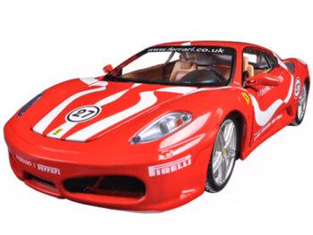 Bburago 18-26009 Ferrari F 430 Fiorano #27 1:24 Red