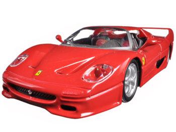 Bburago 18-26010 Ferrari F 50 1:24 Red