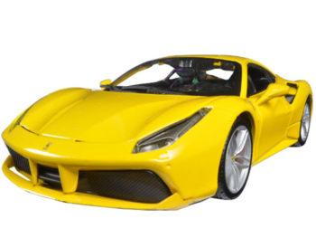 Bburago 18-26013 Ferrari 488 GTB 1:24 Yellow