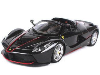 Bburago 18-26022 Ferrari LaFerrari F70 Aperta 1:24 Black