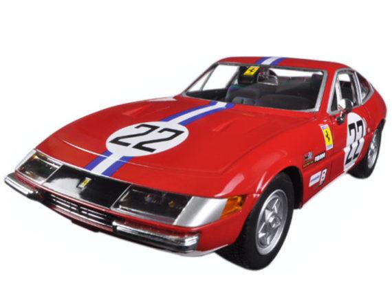 Bburago 18-26303 Ferrari GTB4 Competizione #22 1:24 Red