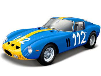 Bburago 18-26305 Ferrari 250 GTO #112 1:24 Blue