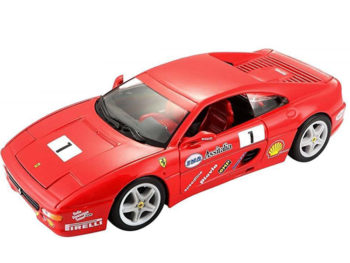 Bburago 18-26306 Ferrari F 355 Challenge 1:24 Red