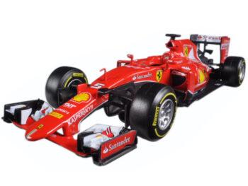 Bburago 18-26801 SV Formula F 1 Ferrari SF15-T #5 1:24 Sebastian Vettel Red