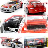 "Porsche 911 GT3 RSR #45 /""Flying Lizard/"" 1-24 Diecast Car Model by Bburago"