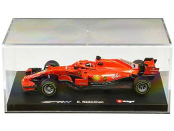 Bburago 18-36808 KR Ferrari Racing Formula F 1 SF71-H 2018 1:43 #7 kimi Raikkonen