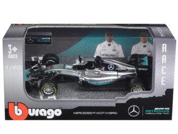 Bburago 18-38026 LH Mercedes Benz AMG Petronas Formula F 1 W07 Hybrid 1:43 #44 Lewis Hamilton
