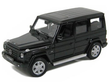 Welly 24012 2012 Mercedes Benz G Class SUV 1:24 Black