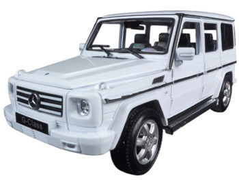 Welly 24012 2012 Mercedes Benz G Class SUV 1:24 White
