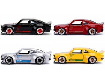 Jada 30488 WA1 JDM Tuners 1974 Mazda RX-3 1:32 4 Colors Set