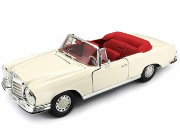 Maisto 31811 Special Edition 1967 Mercedes Benz 280 SE Cabriolet 1:18 Cream