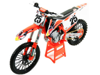 Maisto 32227 MM Red Bull Racing Ktm 450 SX-F 1:6 #25 Marvin Musqin