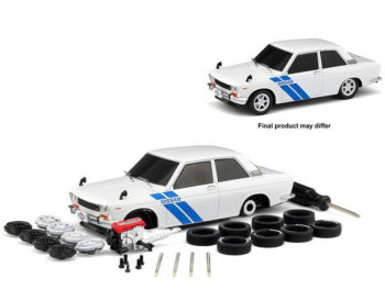 M2 Machines 47000-07-1 Model Kit 1970 Datsun 510 1:24 White