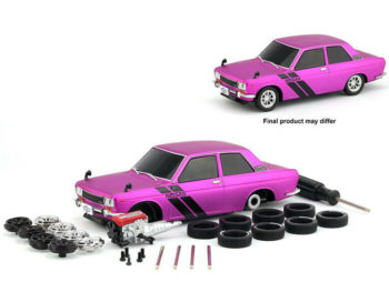 M2 Machines 47000-07-2 Model Kit 1970 Datsun 510 1:24 Satin Hot Pink