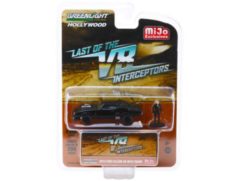 Greenlight 51208 Last of the V8 Interceptors 1973 Ford Falcon XB 1:64 with Figure Black