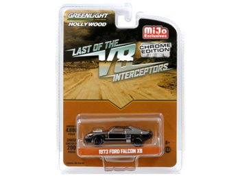 Greenlight 51229 Last of the V8 Interceptors 1973 Ford Falcon XB 1:64 Black Chrome