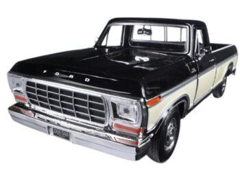 Motormax 79346 1979 Ford F-150 Custom Pick Up Truck 1:24 2-Tone Cream Black