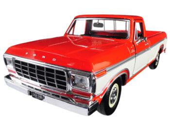 otormax 79346 1979 Ford F-150 Custom Pick Up Truck 1:24 2-Tone Cream Orange