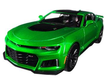 Motormax 79351 2017 Chevrolet Camaro ZL1 1:24 Green