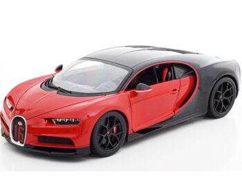 Bburago 18-11044 Bugatti Chiron Sport #16 1:18 Red Black