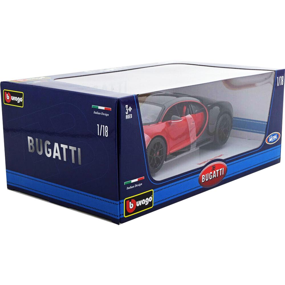 bburago 18 11044 bugatti chiron sport 16 1 18 red black. Black Bedroom Furniture Sets. Home Design Ideas
